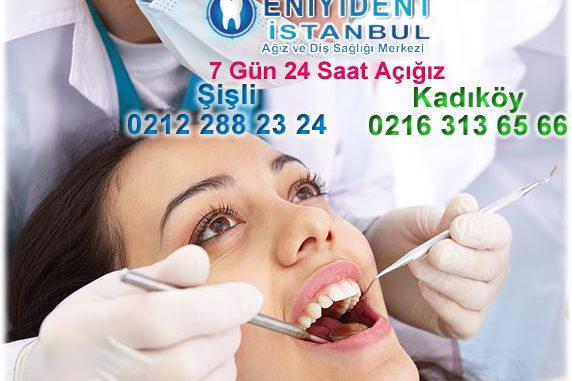 24 saat açık dişçi